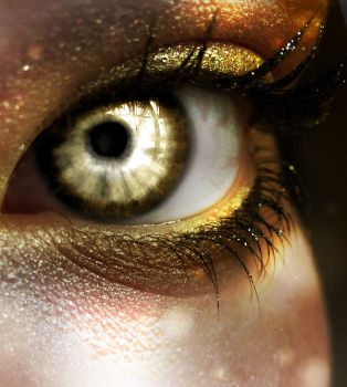Golden Eye by AtaroNymeria
