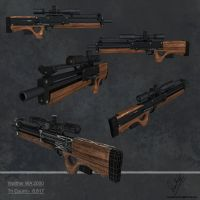 Walther WA 2000 lowres by sankalp23