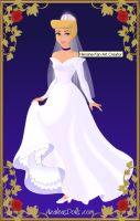 Cinderella wedding by monsterhighlover3