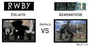 ANIMALS - RWBY vs FF13 by BellaTytus