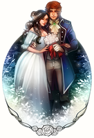 The White Garden - Commission by clover-teapot