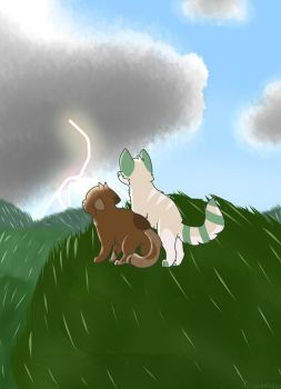 The Storm by FindingMindely