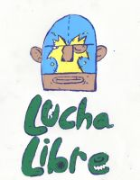 Lucha Libre by theghostboat