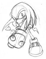 Knuckles Sketch by rongs1234