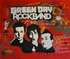 Green Day Rockband by Let-Yourself-Flo