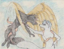 My Guardian Angel, My Shadow, My Muse by ShadowAndFrost