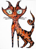 Tarrie Cat by CliveBarker