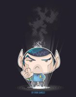 Mr. Nimoy by vancamelot