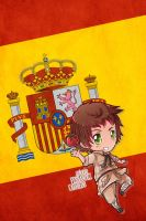 Hetalia iWallpapers - Spain by Dreamweaver38