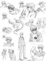 homestuck sketches by talabro