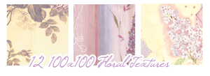 Floral textures:100x100 by Keoni-chan