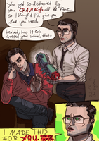 TAKE MY LOVE, DAN (Re-Animator) by Provo-L-Escroc