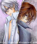 Kaname and Zero .COPIC marker. by escafan