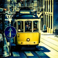 Tram in Lisbon (3) by Rob1962