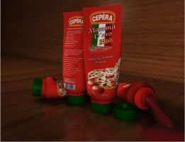 Embalagem Molho Picante by unixer