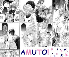 Amuto Collage Thing of Boredom by vocaloid0120