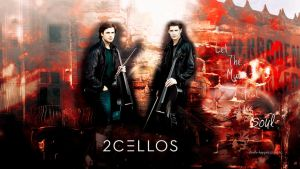 2Cellos wallpaper 02 by HappinessIsMusic