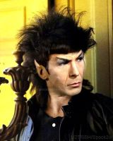 Spock with a Mullet by spock2u