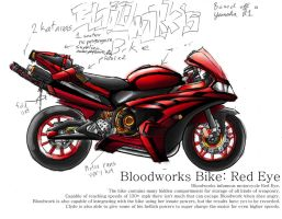 Bloodworks Motorcycle by CrazyAsian1
