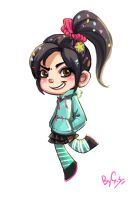 Vanellope by ShadeShark