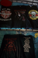 Band Shirts front and Back by Durah