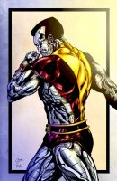 Colossus - Colored by LadyOrange