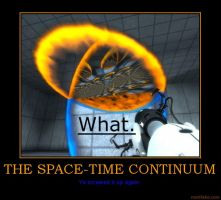 THE SPACE-TIME CONTINUUM by MalevolentDeath