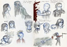 SP Sketches Book Three by Expression