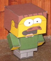 Ned Flanders Cubee by paperart