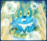 Froakie by makimotto