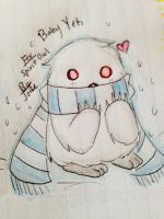 Baby Yeti: Request for SpiritOwl by Misty1090