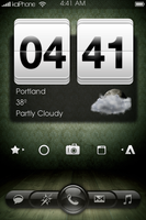 Green iPhone Theme by shdwslayer