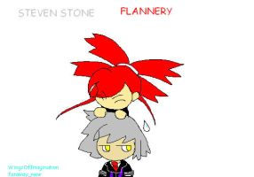 Steven and Flannery by WingsOfImagination