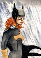 Batgirl by Ombre-Lumineuse