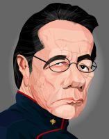 Admiral William Adama by kgreene