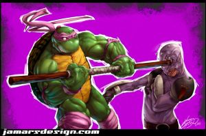 Donatello Smash by JamarsDesign