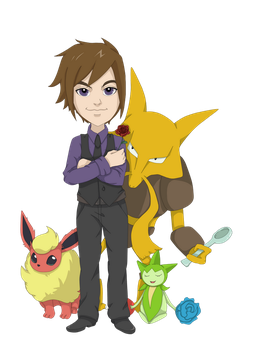 Pokemon Trainer Aiden by pandachick700