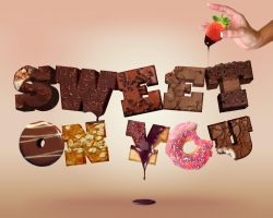 Sweet 3D Type Experiment by dhosford