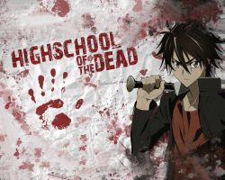 HighSchool of the Dead by Simdrom