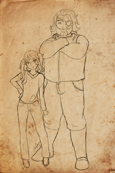 Deacon and Alice by appleofecstacy