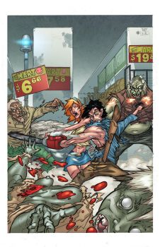Gore on aisle 3 by atombasher