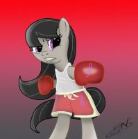 Octavia Boxing by LightDragon87