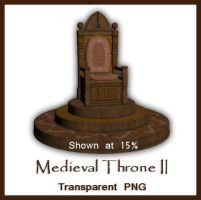 Medieval Throne II by kimber-shd