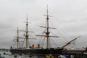 HMS Warrior by james147741
