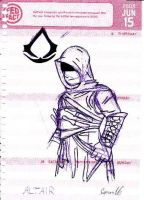 Assassins Creed-Altair by sonor16