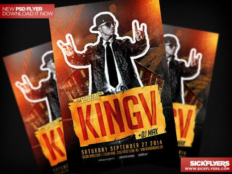 Hip Hop Flyer Template PSD by Industrykidz