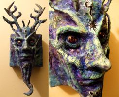 Elemental Earth God Face by zyphryus