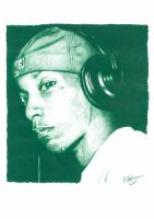 Big L Pencil Sketch by DJMark563
