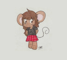 Elinor the mouse by CosmicMoondog