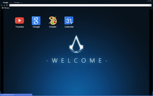 Assassins Creed Welcome Theme by bandchromethemes